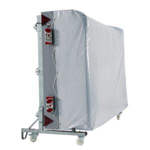 Dodatna oprema za šotorske prikolice Trigano - nosilec za bočno shranjevanje