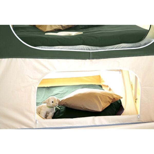 Dodatna oprema za šotorske prikolice Trigano – Podposteljni šotor
