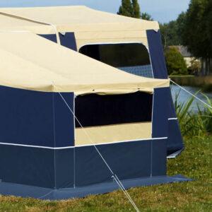Dodatna oprema za šotorske prikolice Trigano - Dodatna priključna soba Raclet Solena