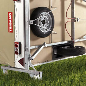 Dodatna oprema za šotorske prikolice